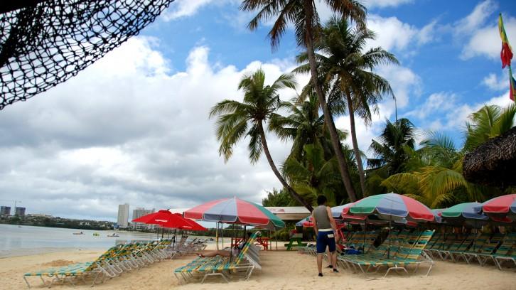 ABC海灘俱樂部 沙灘一角